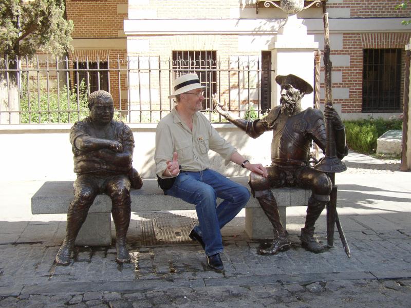 Don Quijote en Alcalá de Henares